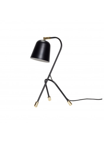 Tafellamp - zwart/goud