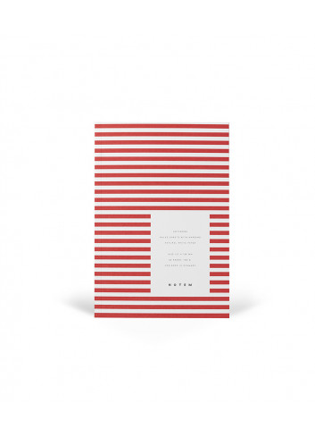 Notitieboek VITA - small - lichtrood