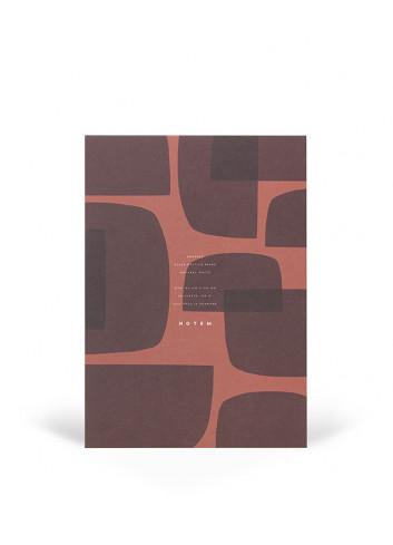 Notepad JO - medium - rood/bordeaux