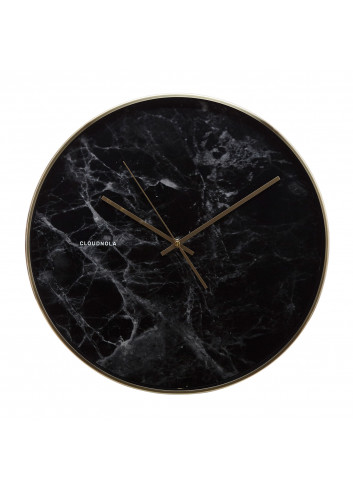 Clock Structure - black marble
