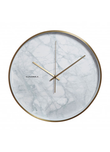 Clock Structure - white marble