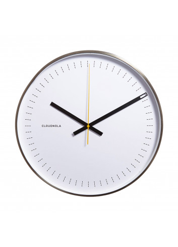 Clock Objective - white