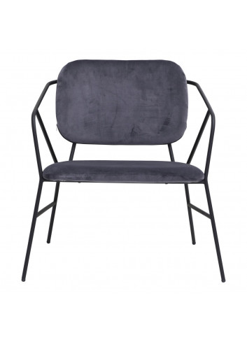 Lounge Chair Klever - grey