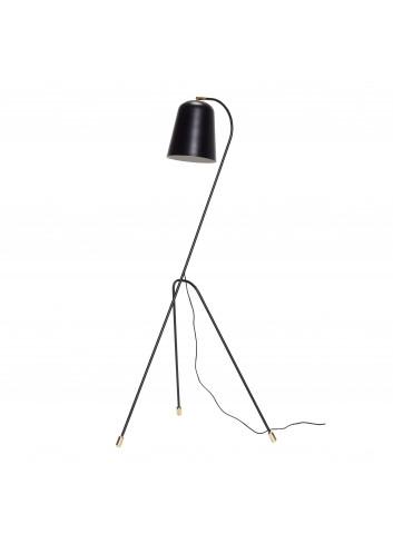 Floor lamp - black/brass