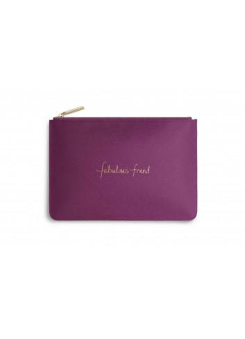 Perfect pouch 'fabulous friend'