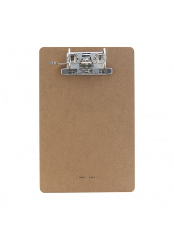 Clipboard with rings - A4