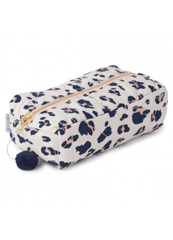 Beate toiletry bag - leo beige beauty
