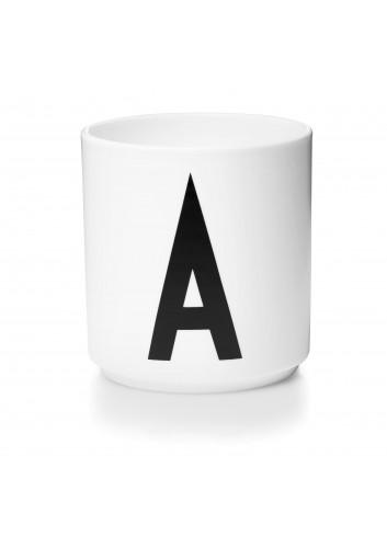 Porcelaen cup (A-Z)