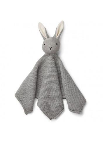 Milo knit cuddle cloth - rabbit grey
