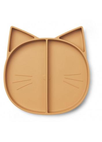 Maddox multi plate - cat mustard