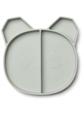 Maddox multi plate - Panda dusty mint