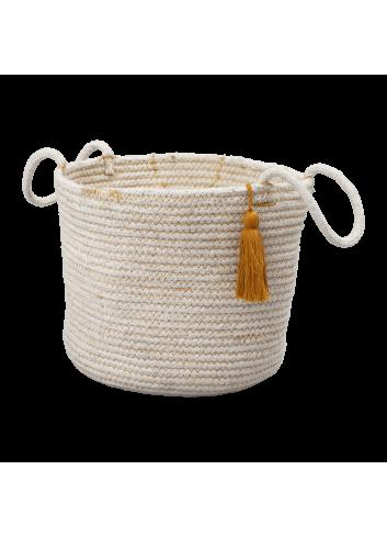 Rope Basket - Ochre
