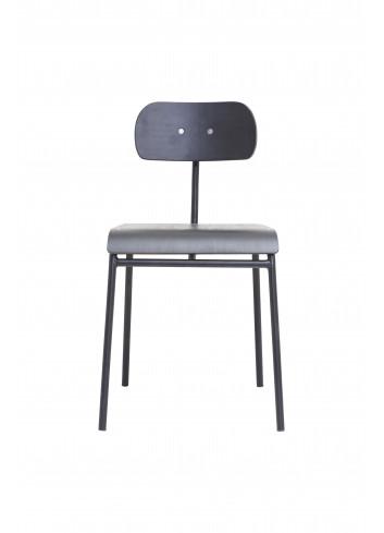Dining chair School, Black - Showroommodel