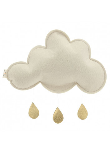 Mobile cloud white/gold
