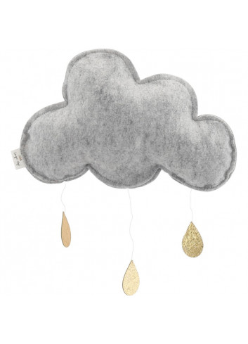 Mobile cloud grey/gold