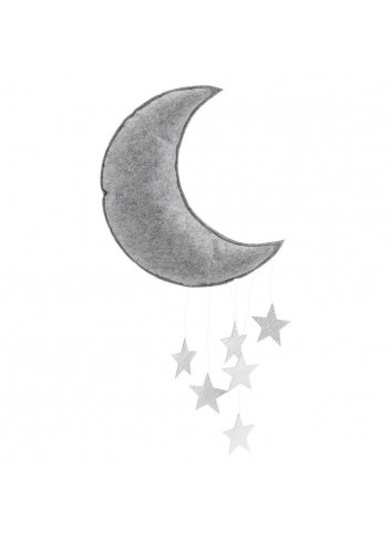 Mobile moon grey/silver
