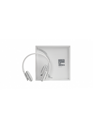 aHEAD - Bluetooth headphone - white