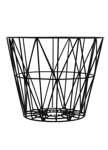 Wire Basket - Black - Small