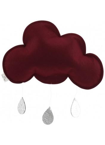 Mobile cloud burgundy/silver