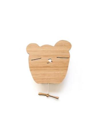 Musicbox Wood Bamboo - Bear