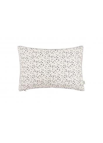 Cushion Woven Drops - Black