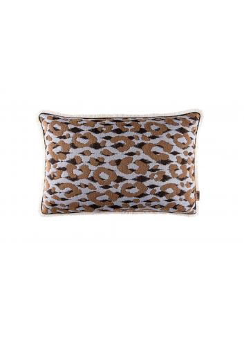 Pillow Leopard - Light Blue