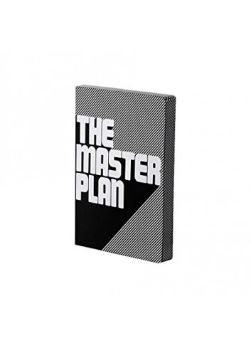 Bullet Journal/Notebook The Master Plan - leather - black/white