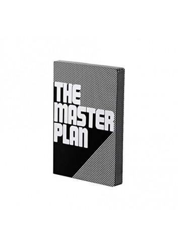 Bullet Journal/Notitieboek The Master Plan - leder - zwart/wit