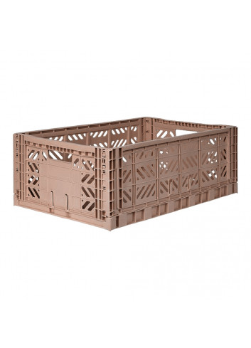Box Large - Warm Taupe