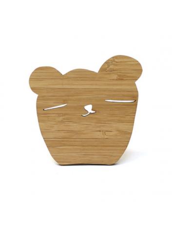 Wallhooks Bamboo - Bear