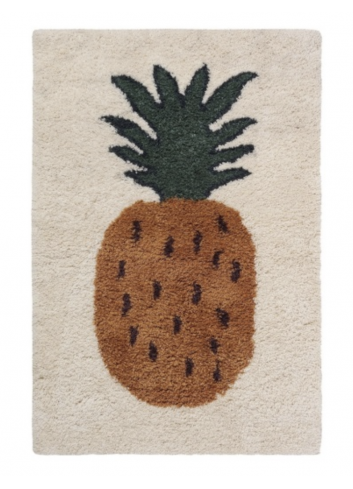 Fruiticana Tufted Pineapple Rug - Large