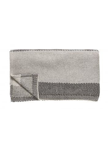 Plaid lamswol - grijs