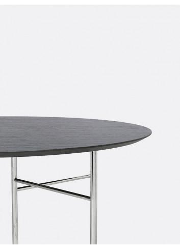 Mingle Table Round 130cm - Black