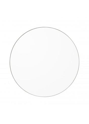 Ronde spiegel CIRCUM S - transparant/taupe