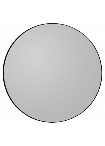 Round mirror CIRCUM M - black