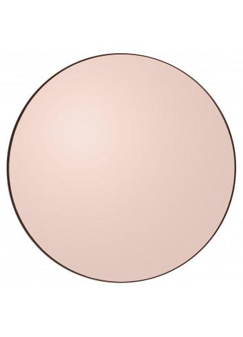 Ronde spiegel CIRCUM M - roze