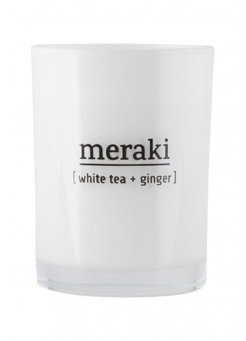 Scented Candle - White Tea & Ginger