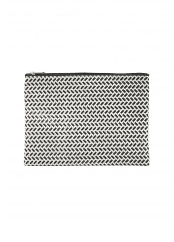Pouch - black/white paran