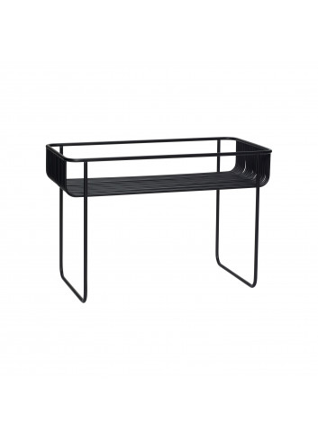 Coffee table wire - black