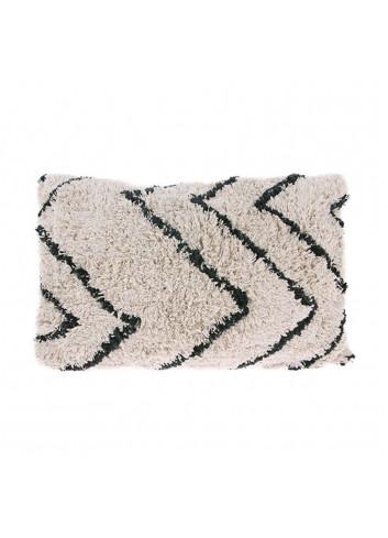 Cushion cotton 40x60cm - zigzag