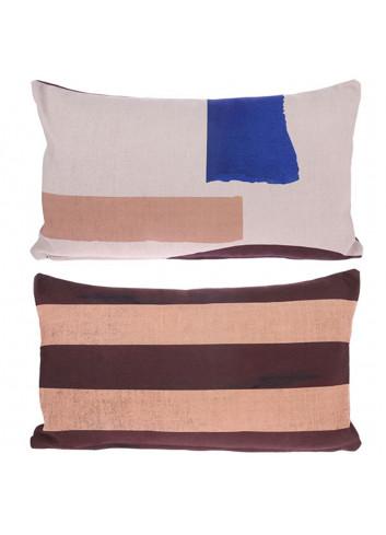 Cushion 35x60cm - abstract print