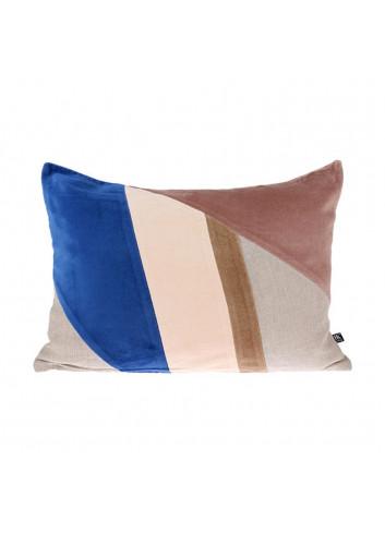 Velvet cushion - multicolour