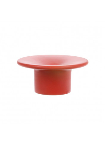 Candle stand - red/matt