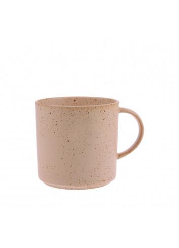 Tea mug - Nude speckled