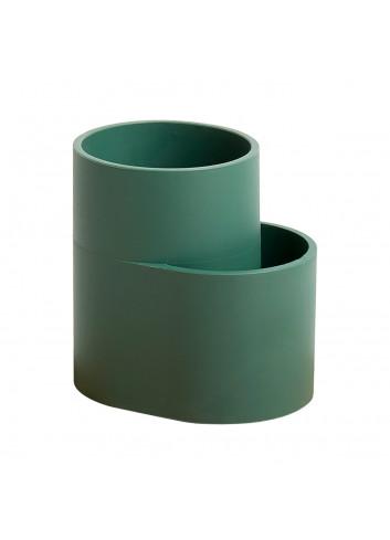 Dish drainer cup - Dark green