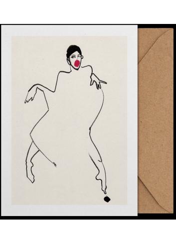 Art Card - Dancer 02 (A5)