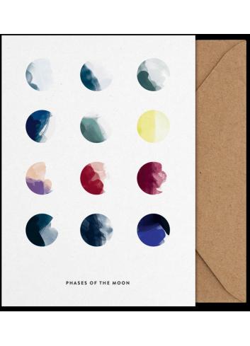 Art Card - Moon Phases (A5)