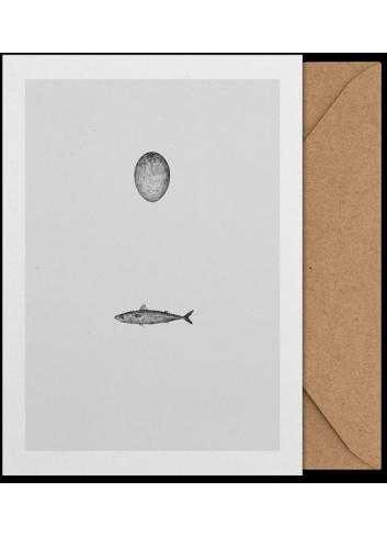 Art Card - Swedish Mackerel (A5)