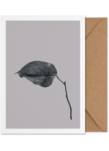 Art Card - Sabi Leaf 03 (A5)