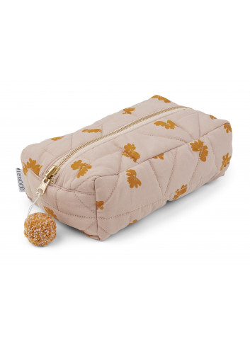 Beate toiletry bag - sprout rose